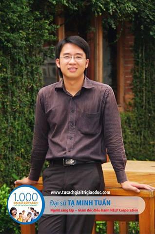 Anh Tạ Minh Tuấn – Người sáng lập, Giám đốc điều hành HELP Corporation