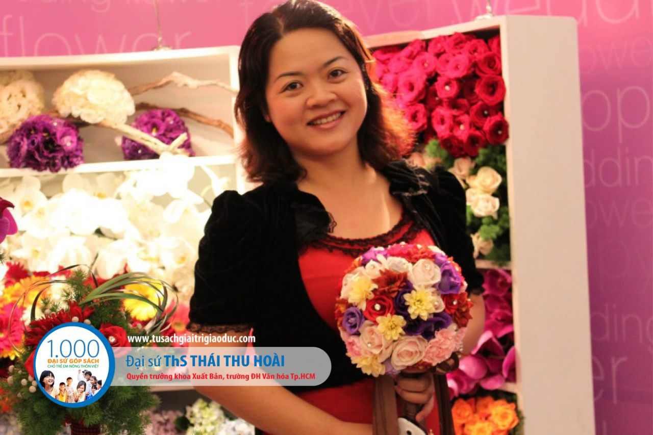 ThS. Thái Thu Hoài – Phó trưởng khoa Khoa Xuất Bản, ĐH Văn hóa Tp.HCM